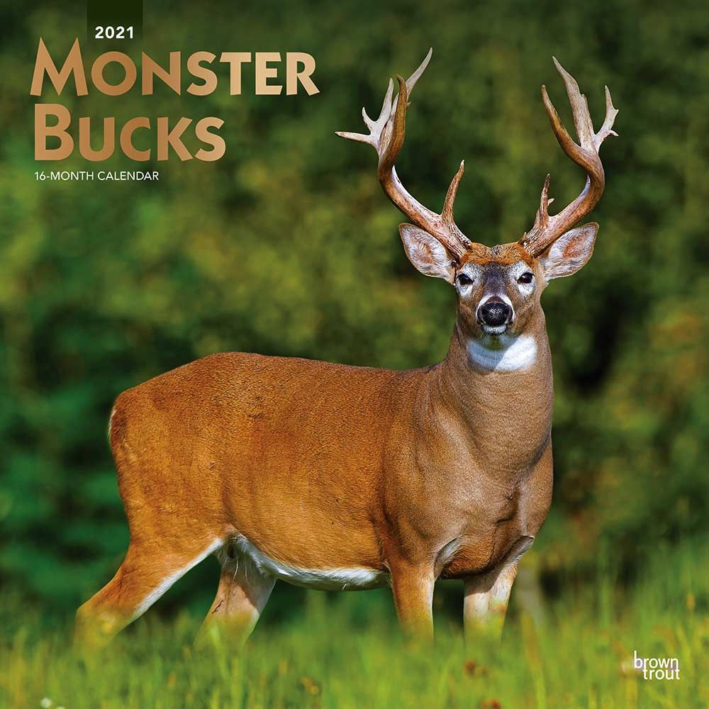 2021 Monster Bucks Calendar
