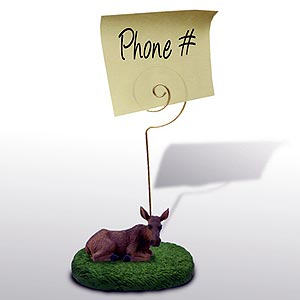 Moose Note Holder