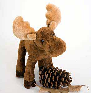 Moose Stuffed Plush Animal