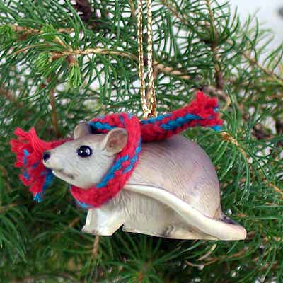 Mouse Tiny One Christmas Ornament