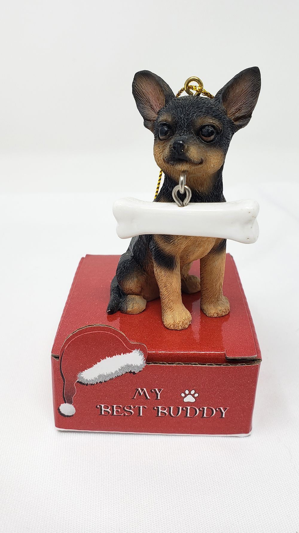 My Best Buddy Chihuahua Christmas Ornament