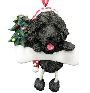 Newfoundland Christmas Tree Ornament - Personalize