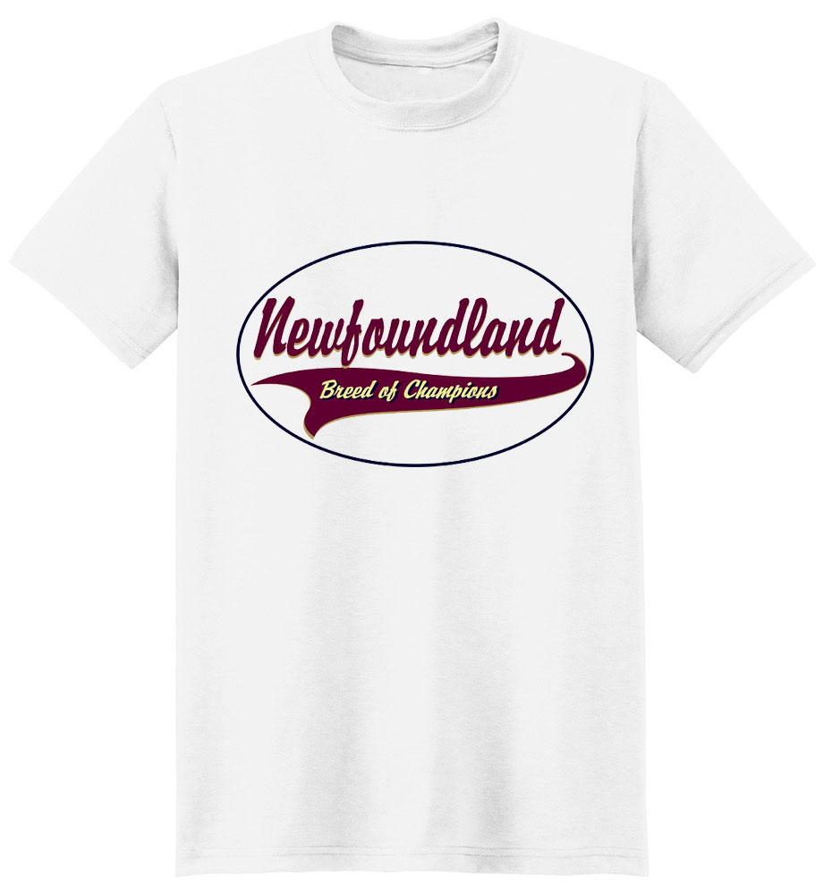 Newfoundland T-Shirt - Breed of Champions