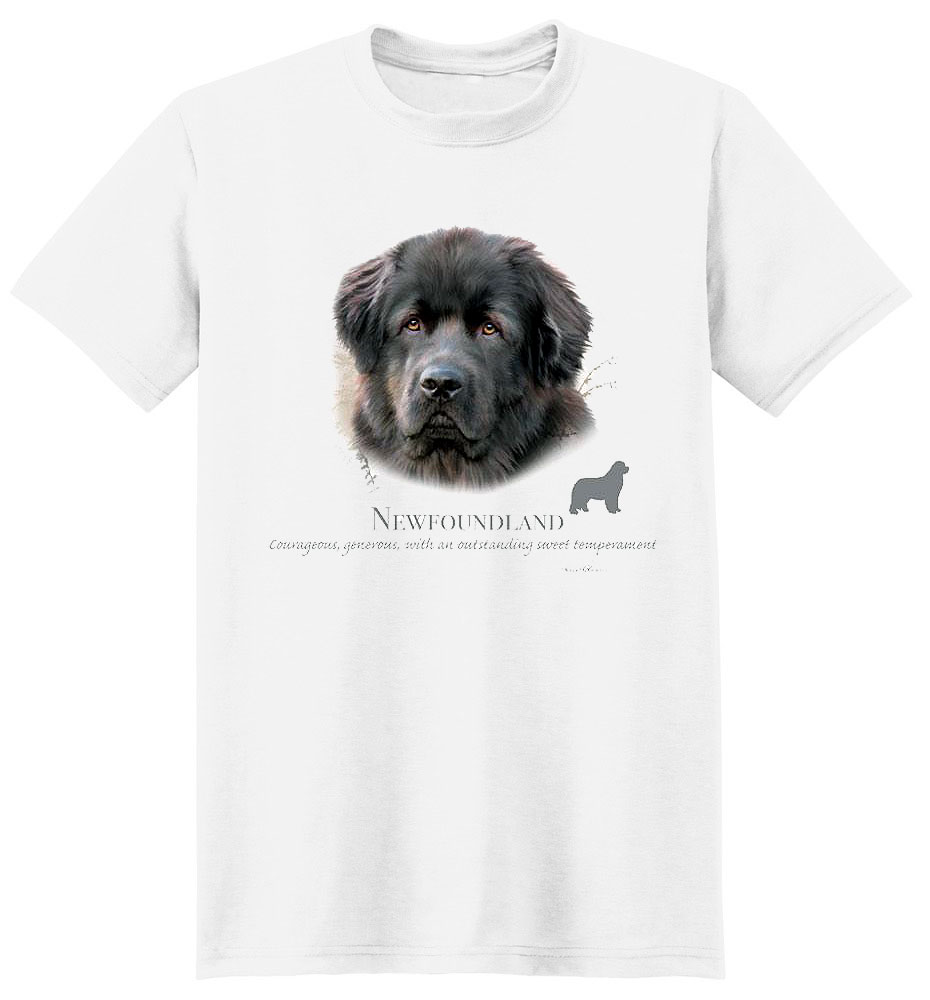 Newfoundland T Shirt by Howard Robinson