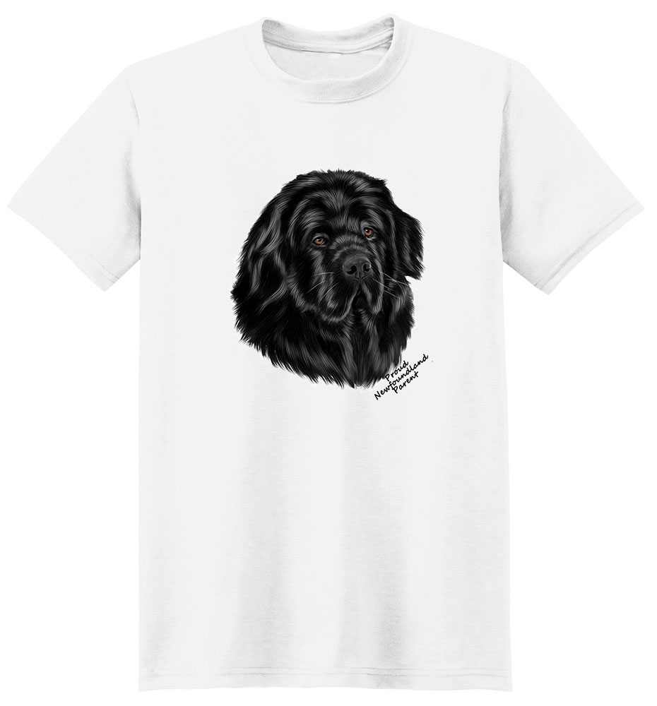 Newfoundland T Shirt - Proud Parent