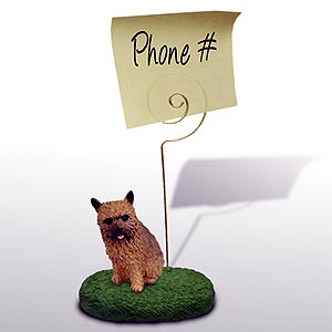Norwich Terrier Note Holder