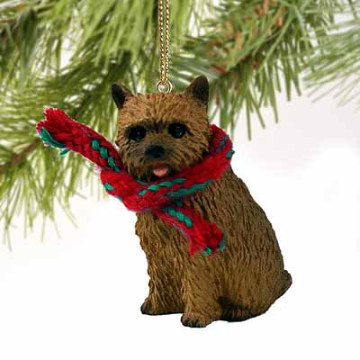 Norwich Terrier Tiny One Christmas Ornament