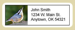 Nuthatch Address Labels