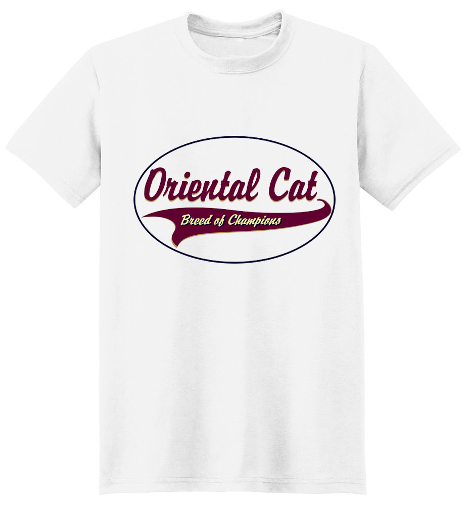 Oriental Cat T-Shirt - Breed of Champions