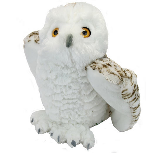 Wild Republic Snowy Owl Plush, Cuddlekins, 12 Inches
