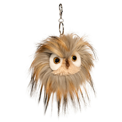 Owl Plush Stuffed Animal Pom Clip On3