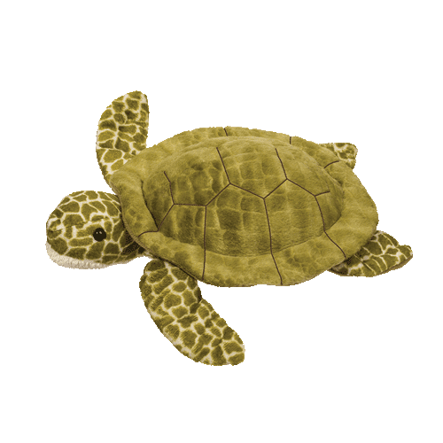 "Pebbles the Turtle 9"" Stuffed Plush Animal"