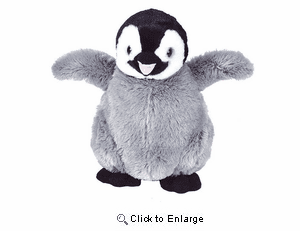 Wild Republic Penguin Plush, Cuddlekins 14""