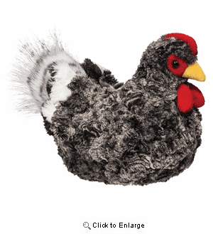 """Pepper"" the Hen 8.5"" Plush by Douglas Toy"