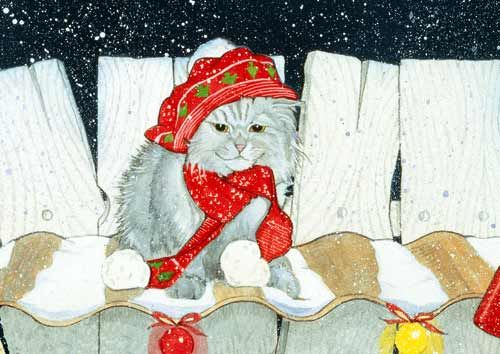 Persian Cat Christmas Cards
