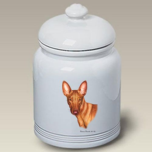 Pharaoh Hound Treat Jar