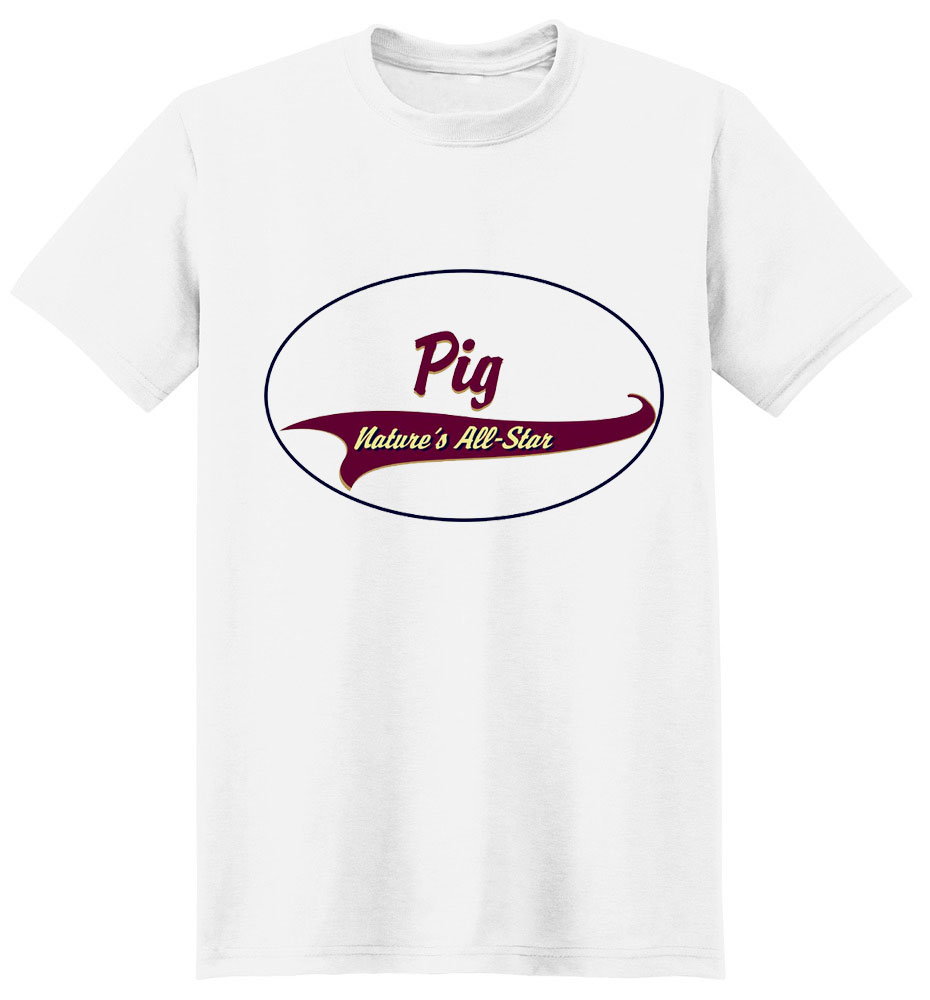 Pig T-Shirt - Breed of Champions