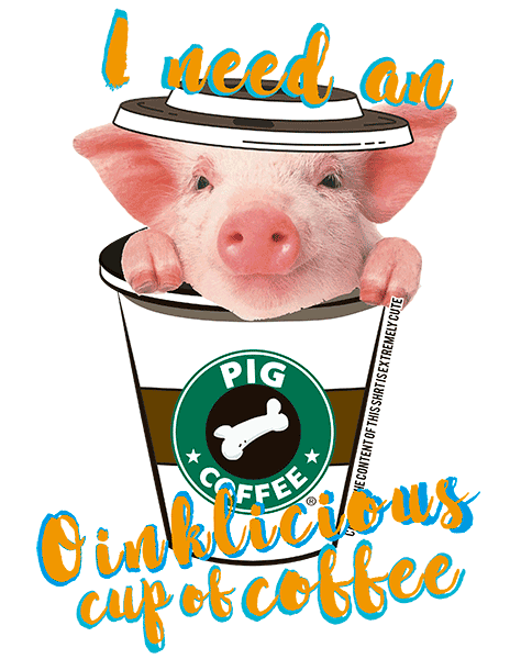 Pig T Shirt - Coffee Mug
