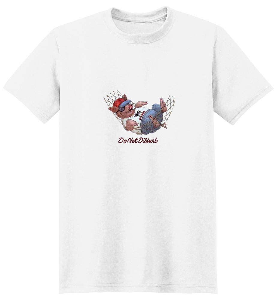Pig T-Shirt - Do Not Disturb