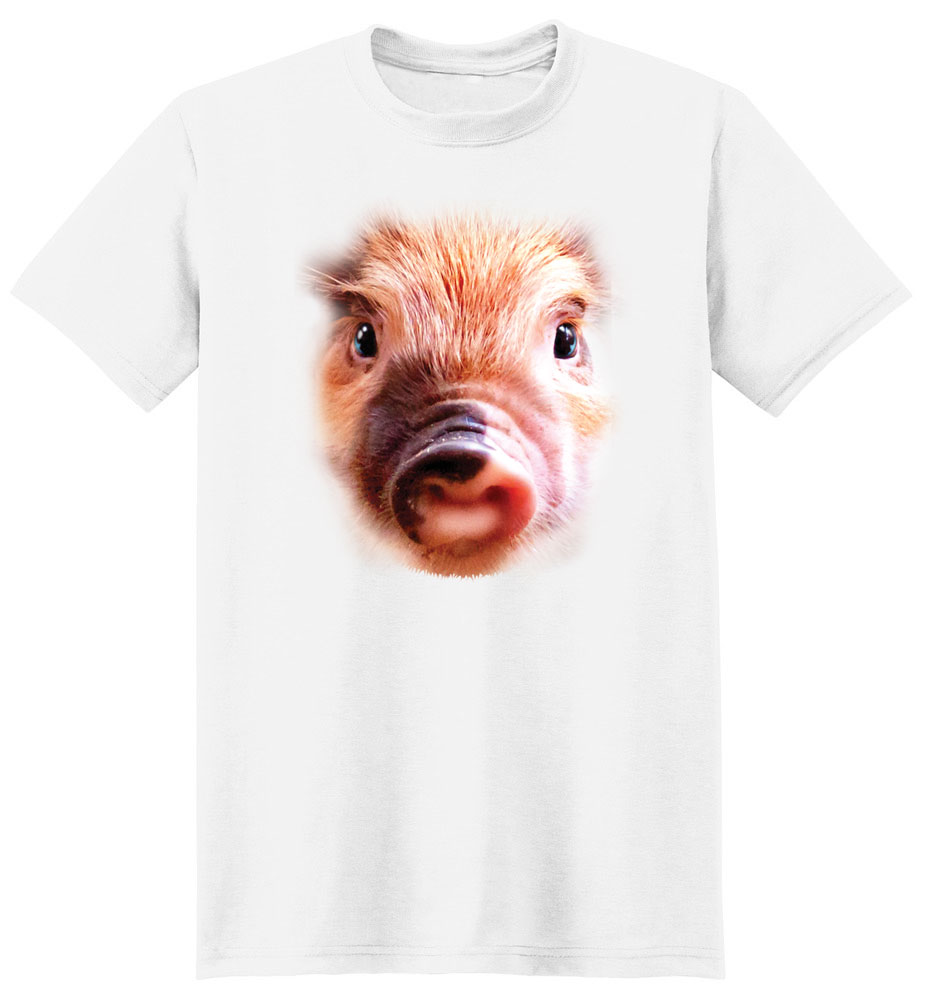 Pig T Shirt Full Face