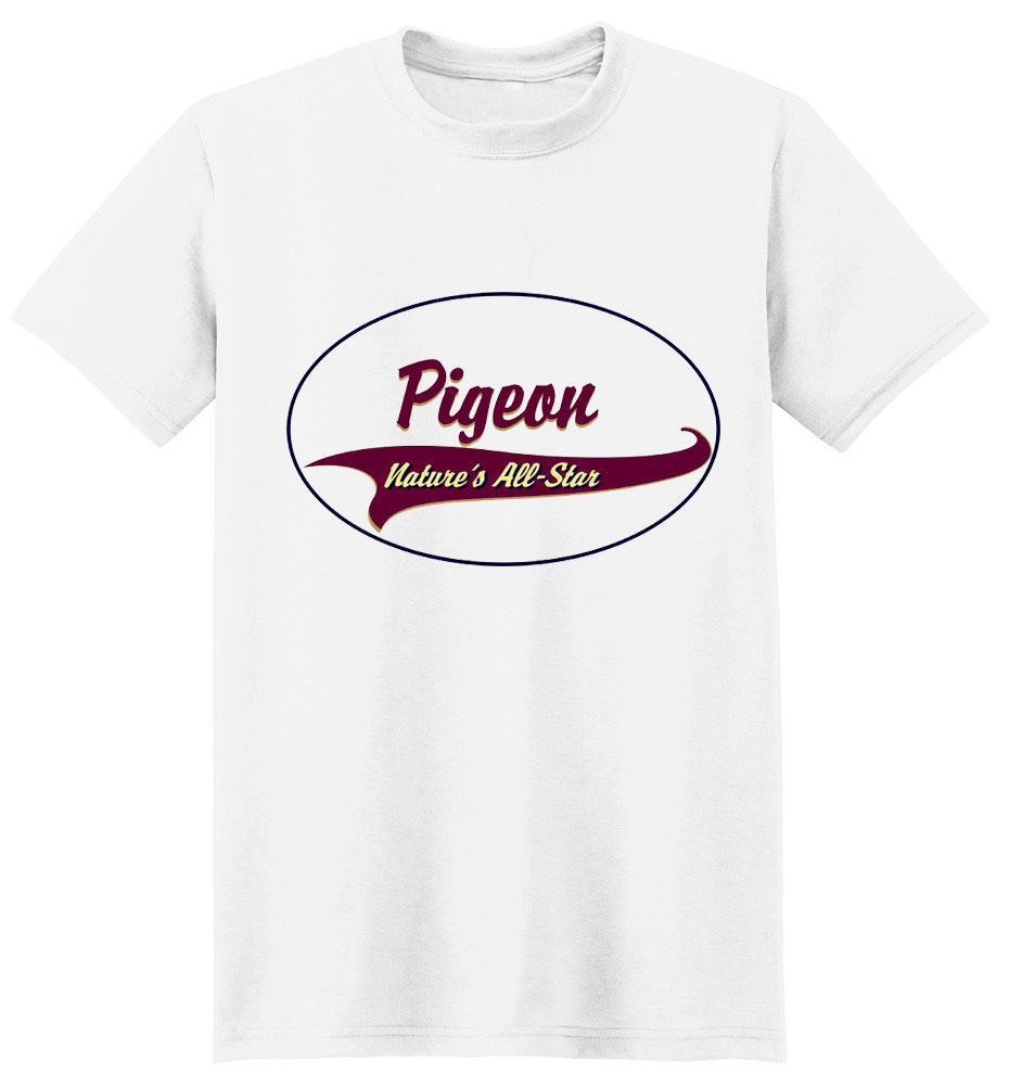 Pigeon T-Shirt - Breed of Champions