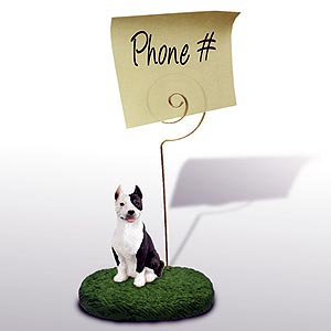 Pit Bull Terrier Note Holder