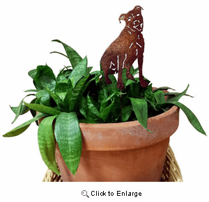 Pit Bull Terrier Plant Stake