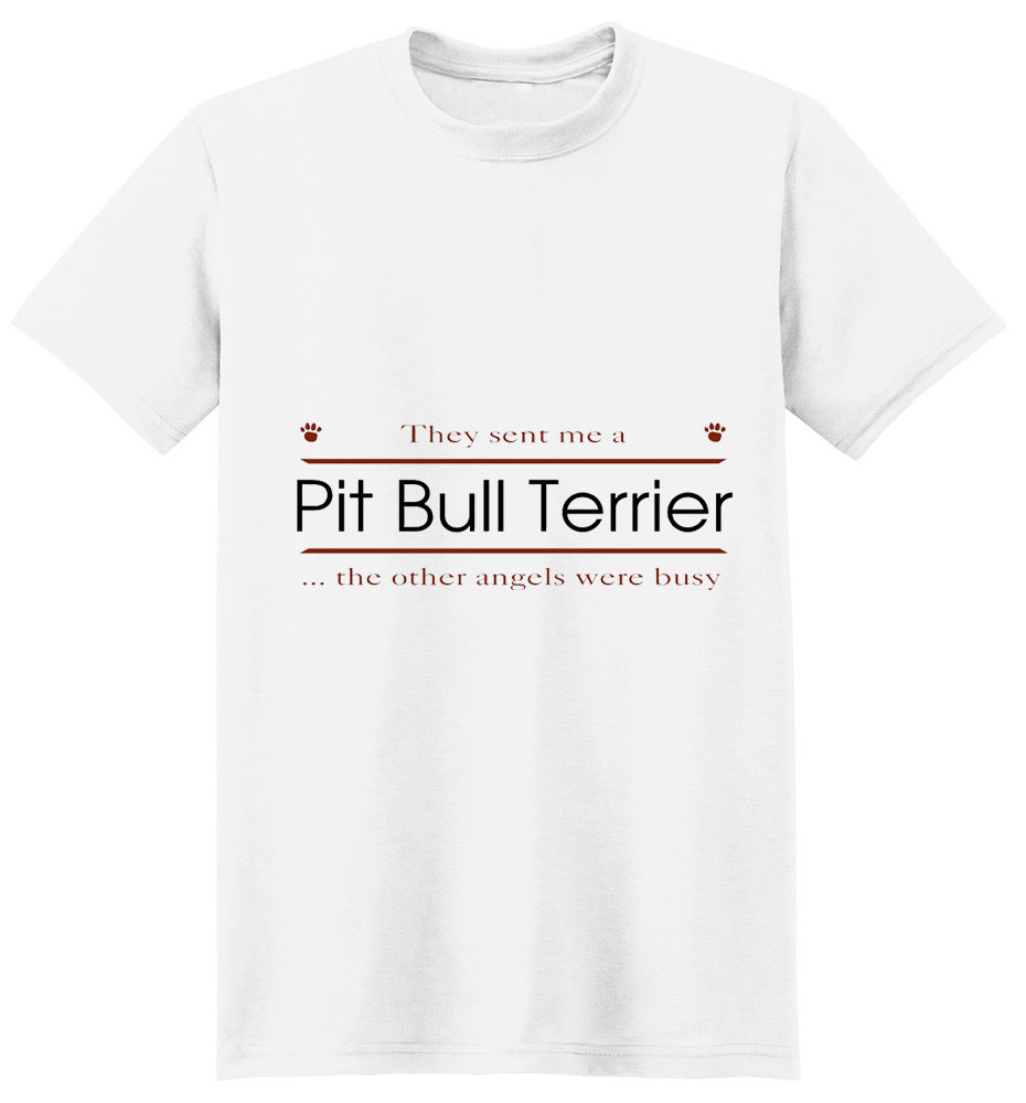Pit Bull Terrier T-Shirt - Other Angels