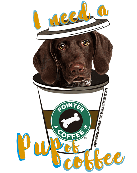 Pointer T Shirt - Coffee Mug