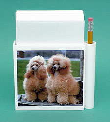 Poodle Hold-a-Note