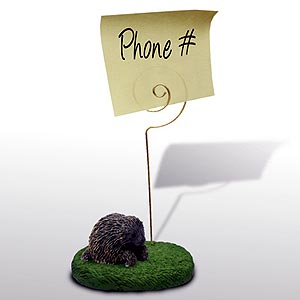 Porcupine Note Holder