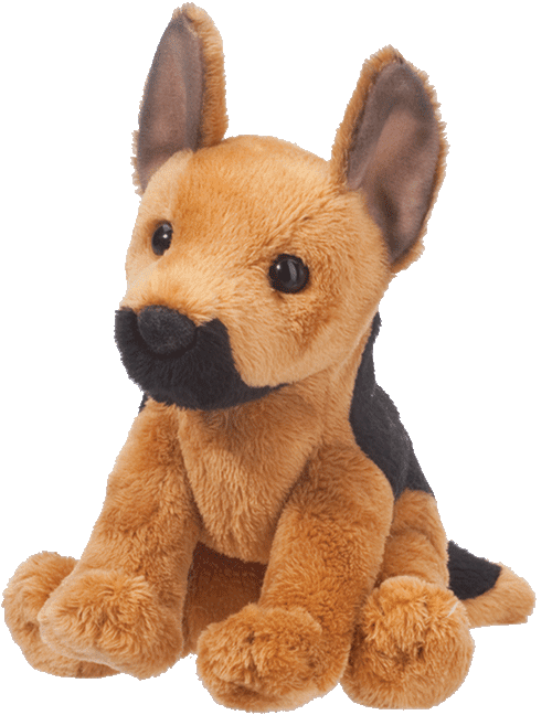 Prince German Shepherd 5� Stuffed Plush Animal