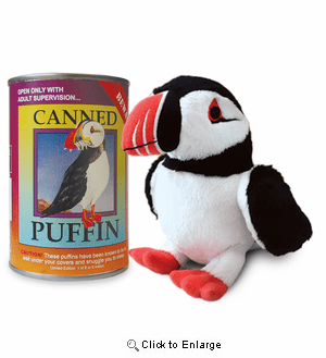 """Puffin Canned Critter 6"""""""