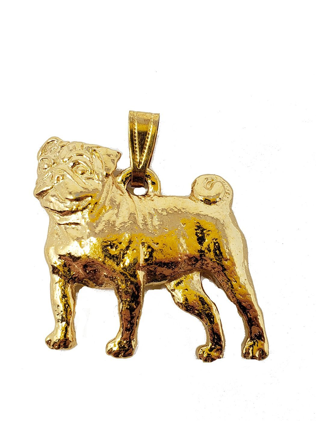 Pug 24K Gold Plated Pendant
