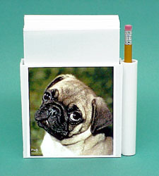 Pug Hold-a-Note