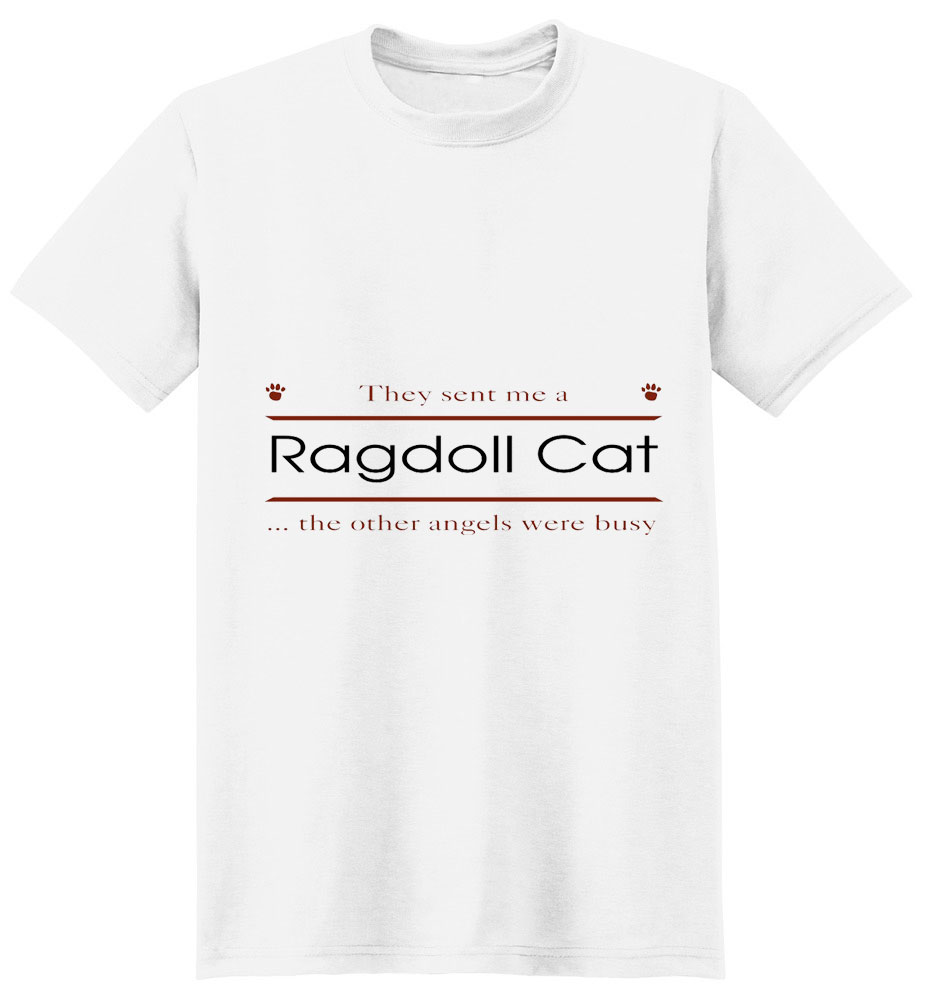 Ragdoll Cat T-Shirt - Other Angels