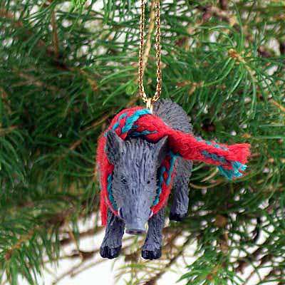 Razorback Tiny One Christmas Ornament