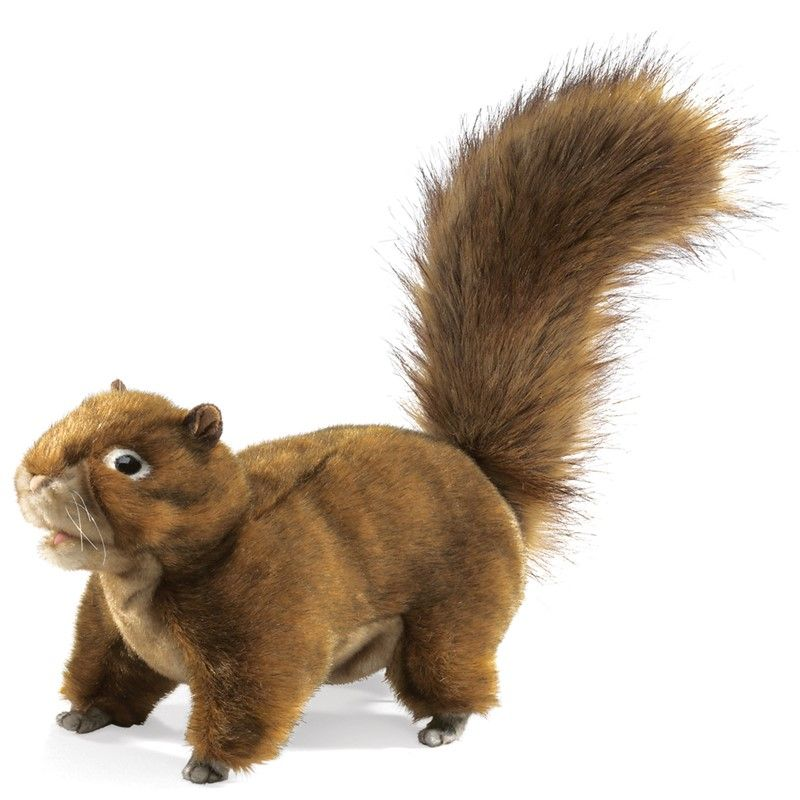 Red Squirrel Hand Puppet 10