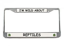 Reptile License Plate Frame