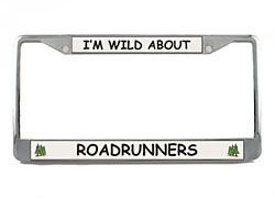Roadrunner License Plate Frame