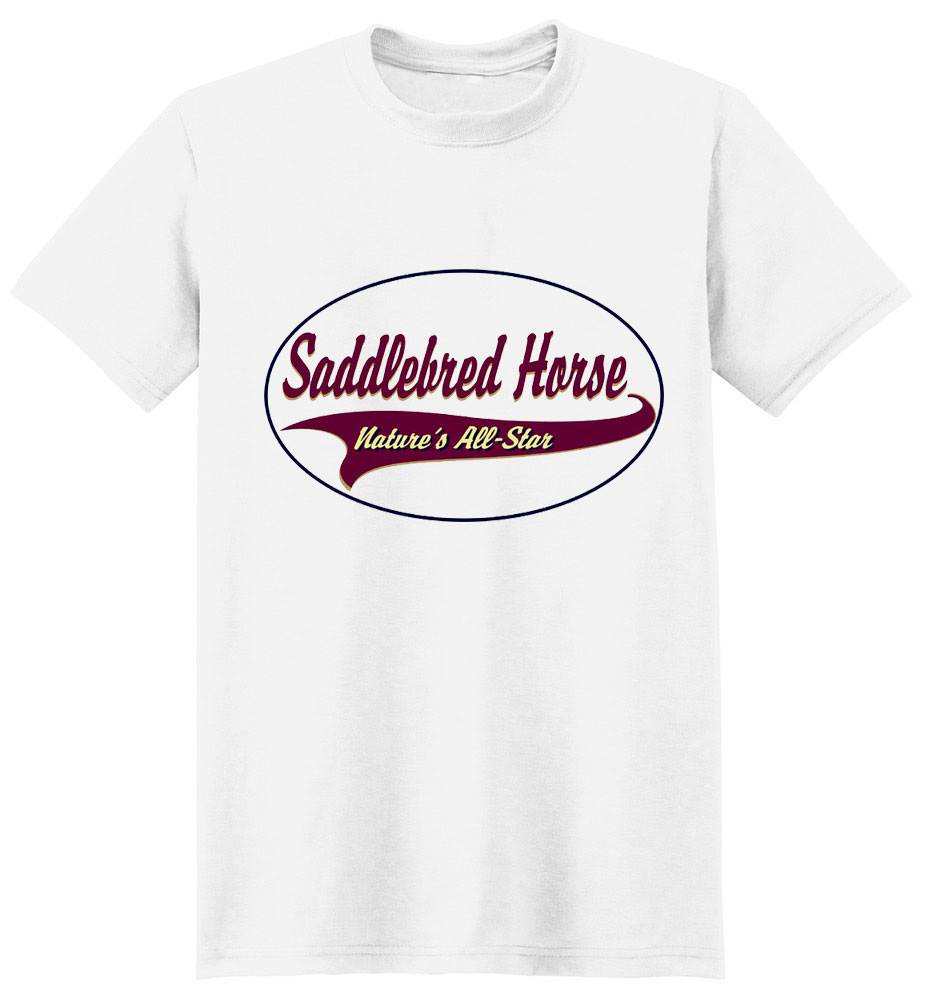 Saddlebred Horse T-Shirt - Breed of Champions