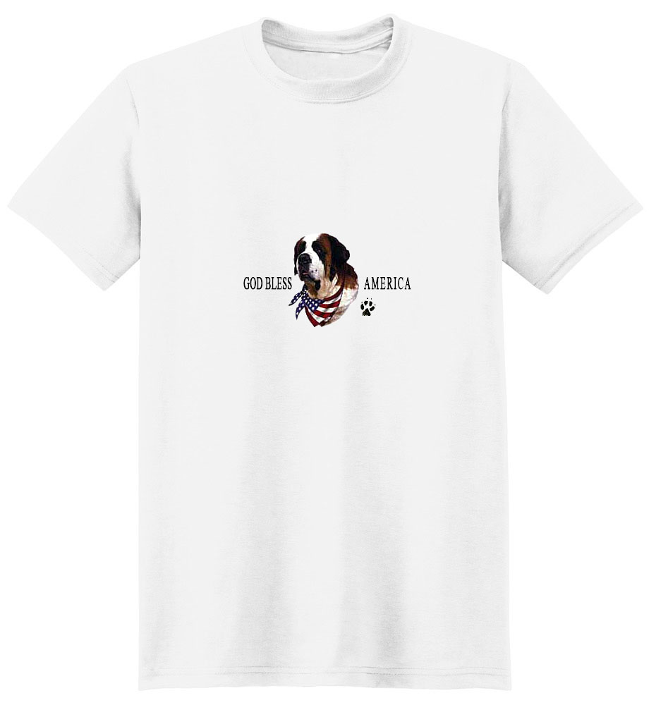 Saint Bernard T-Shirt - American Dog