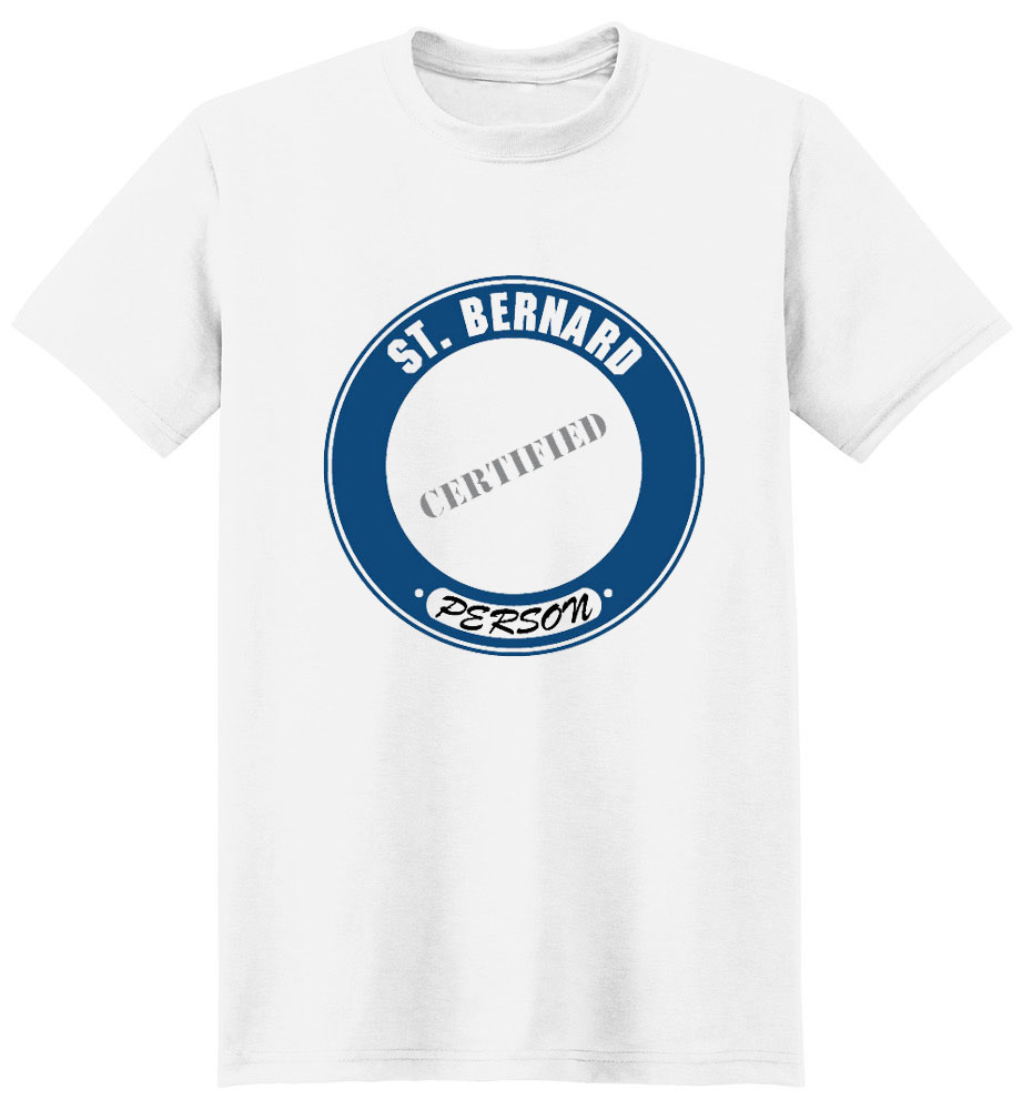 Saint Bernard T-Shirt - Certified Person