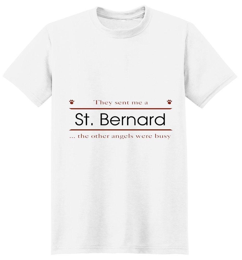 Saint Bernard T-Shirt - Other Angels