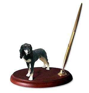 Saluki Pen Holder