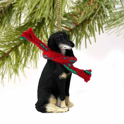 Saluki Tiny One Christmas Ornament