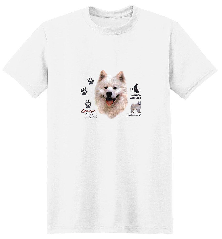 Samoyed T-Shirt - History Collection