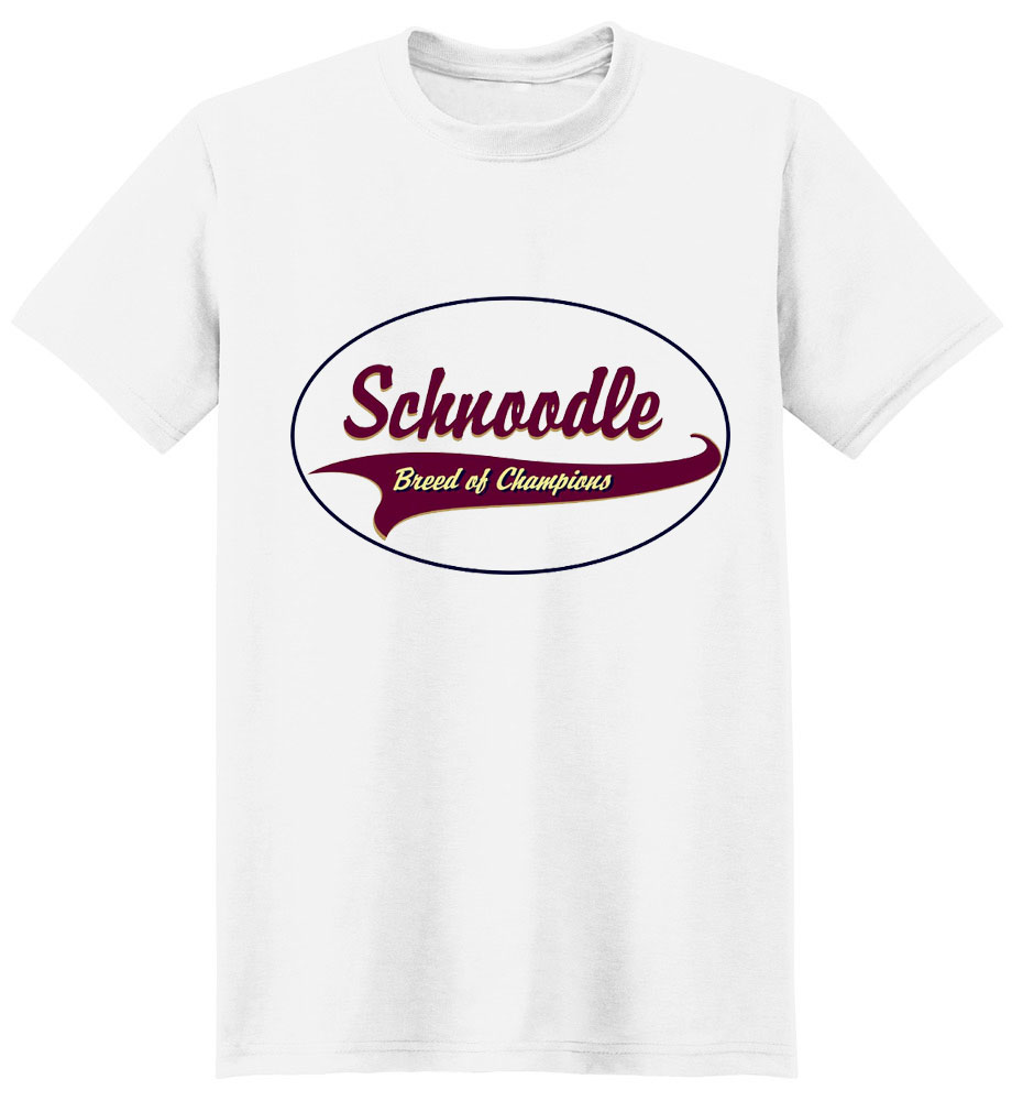Schnoodle T-Shirt - Breed of Champions