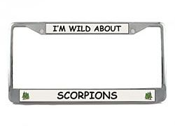 Scorpion License Plate Frame