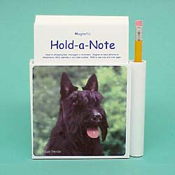 Scottish Terrier Hold-a-Note